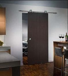 sliding barn door hardware set $228