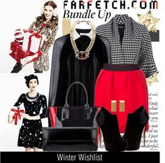 """Winter Wishlist with Farfetch"" by julietav ❤ liked on Polyvore"