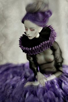 purple dream | par dolls of milena
