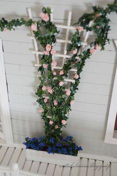 Ruusuköynnös Rosevine tutorial