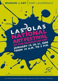 LAS OLAS NATIONAL ART FESTIVAL | Client  MoA - MUSEUM OF ART | Fort Lauderdale, FL
