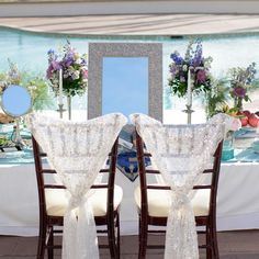 Loved this beachy themed wedding with the ceremony poolside. and this gorgeous sofreh table. Thanks to Carly for great… Cabbage Roses, Sweetheart Table, Rose Wedding, Tables, Chairs, Thankful, Weddings, Table Decorations, Instagram