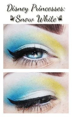 Snow White inspired makeup..