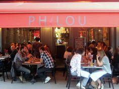 Philou-Paris. a new bistro. terrine de boud in noir and pave de saumon fume. ave Richerand. Conde Nast Traveler Oct 2013.