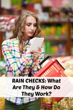Rain Checks: What Are They & How Do They Work?