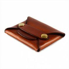 Leather Shop RIVET WALLET - tan $45