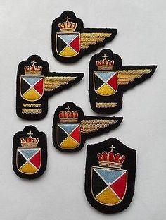 Badges Sabena Belgian Airlines