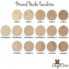 Did you know Cowgirl Dirt sells samples? Try out our Mineral Powder Foundation Samples. #cowgirldirt #cosmetics