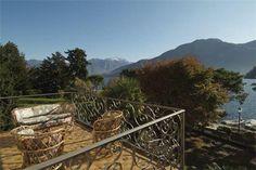 Lovely terracce by Lake Como, Italy