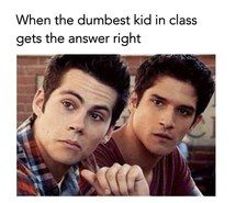 Dylan's face is a 100% how I would've react!!!
