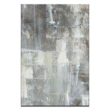 Cellar Door by Sally Adams Art Print on Canvas in Grey