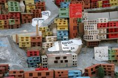 morrinho project (brazil/TWS) Venice 2007 Childhood Games, Recycled Materials, Magazine Design, Venice, Brazil, Architecture Design, Recycling, Holiday Decor, Projects