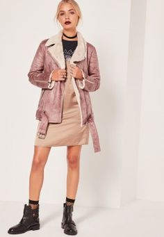 Classic Pilot Jacket Rose Misguided Fashion, Jackets Online, Sweater Weather, Aviator Jackets, Dress Outfits, Fashion Outfits, Puffer Jackets, Missguided, Winter Wardrobe