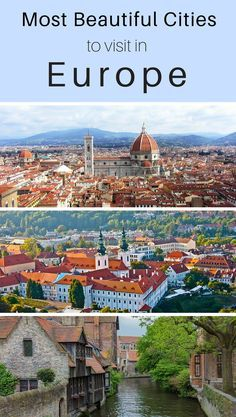 Most Beautiful Cities in Europe You Need to Visit - Reisen - Europa - travel Backpacking Europe, Europe Travel Guide, Travel Info, Travel Ideas, Travel Usa, Travelling Europe, Train Travel, Travel Hacks, Places In Europe