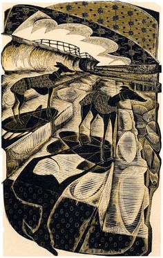 Neil Bousfield ~ Liquorice Whippets on Eccles Sea Wall (wood engraving) Engraving Printing, Wood Engraving, Greyhound Art, Italian Greyhound, Gravure, Dog Art, Printmaking, Illustration Art, Illustrations