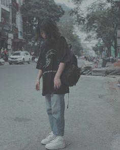 Poses, Korean Girl, Asian Girl, Boyish Girl, Uzzlang Girl, Girl Fashion, Fashion Outfits, Korean Street Fashion, Girl Short Hair