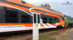 Stadler FLIRT самый быстрый поезд в мире, поездка в Эстонию