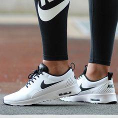 Women's Nike Air Max Thea 'White/White-Black' | Your classic lifestyle sneaker |