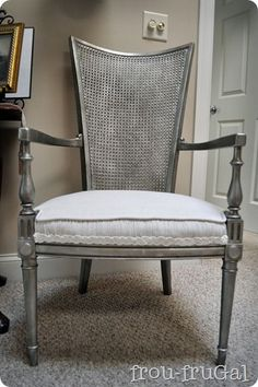 Aged Silver Finish - Frou FruGal - Love this only I want copper!  --  would look great on my old bed frame
