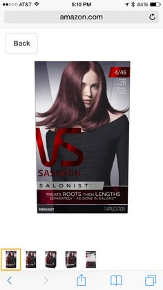 21 Best Violet Burgundy Boxed Hair Colors Images Coloured Hair