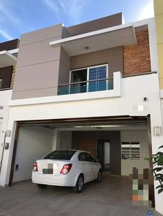 House Front Design, Facades, Ideas Para, Minimalist, Houses, Architecture, City, Outdoor Decor, Home Decor