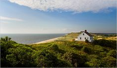 Edward Hopper's summer house in South Truro. Photo by Chris Ramirez for the New York Times.