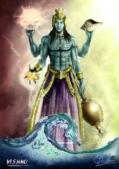 VISHNU by AiShuma on deviantART