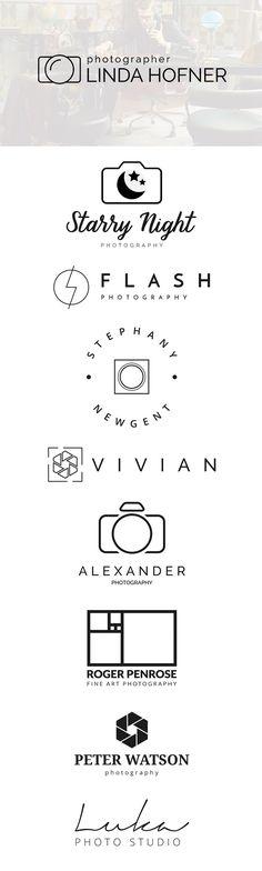 Free Photography Logo Templates PSD Design
