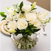 Centerpiece - White - 6 pc. $253.48