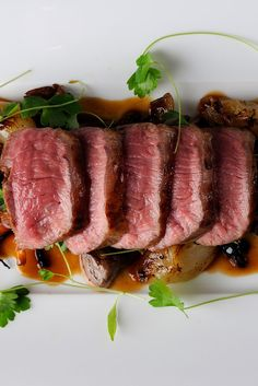 You will love the rich flavours of this lamb loin recipe by Chris Horridge. Luscious lamb loin is paired with a creamy Parmesan risotto and wild mushrooms