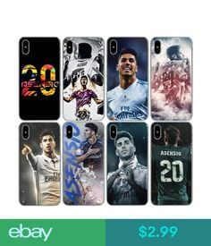 $2.99 - Marco Asensio Case For Iphone Apple X 8 7 6 6S Plus 5 5S Se #ebay #Electronics