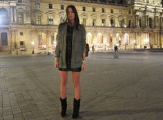 perfect paris outfit (lusting after the Isabel Marant wedge boots)