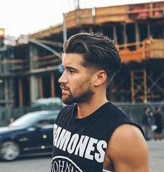 14.Long Top Hairstyle for Guys