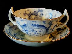 Japanese Dragon Tea Cups And Dragon On Pinterest