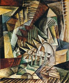 Max Weber, Rush Hour, New York, 1915, National Gallery of Art, Washington DC