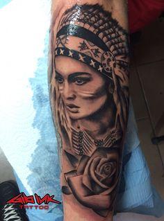 Cool Tattoos, Portrait, Coolest Tattoo, Portrait Illustration, Amazing Tattoos, Portraits, Awesome Tattoos, Head Shots