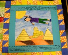 story quilts inspired by Faith Ringgold