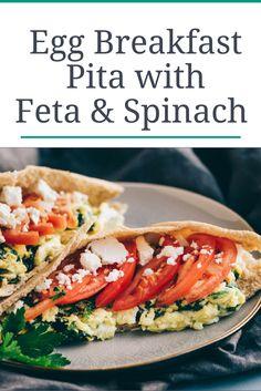 Healthy Breakfast Sandwich Pita recipe
