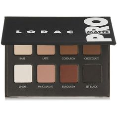 LORAC Pro Matte Eye Shadow Palette Luxury Beauty (€26) ❤ liked on Polyvore featuring beauty products, makeup, eye makeup, eyeshadow, palette eyeshadow, lorac, lorac eye shadow and lorac eyeshadow