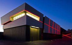 Modern warehouse design. Find your warehouse at: http://www.raktarkereso.info/