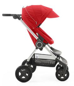The new 2015 Stokke Scoot V2 in red. Here is my detailed review.