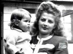 Priscilla with her Mom, Anna (Lisa looks like Priscilla when she was a baby)