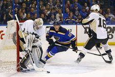 Feb. 21, 2015 — Penguins 4, Blues 2 (Photo: USA Today Sports)