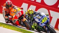 Marc Marquez and Valentino Rossi, Repsol Honda Team and Movistar Yamaha Moto Gp, Motul TT Assen 2016