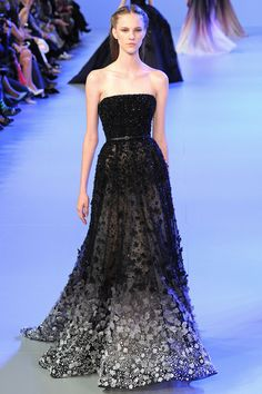 spring collection black couture 2014 | Elie Saab Spring 2014 Couture Highlights | ppower92