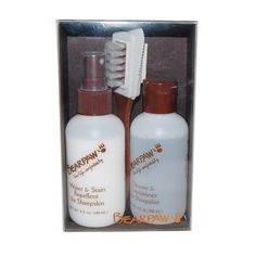 Bearpaw Sheepskin & Suede Care Kit Bearpaw. $29.95. sheepskin, sheering, suede. Stain Repellent. Water Repellent. Cleaning Brush. Cleaner and Conditioner