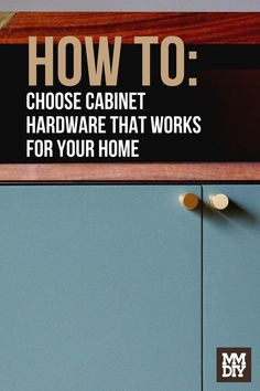 We're here to tell you everything you need to know about choosing cabinet hardware that will be both functionally and aesthetically pleasing. // Cabinet Hardware // Cabinet Organization // Cabinets Cabinet Hardware, To Tell, Need To Know, It Works, Organization, Modern, Cabinets, Home Decor, Getting Organized