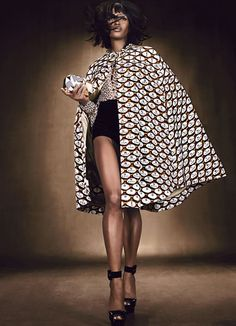 LUXE BE A LADY   Naomi Campbell    Emma Summerton #photography   W Magazine