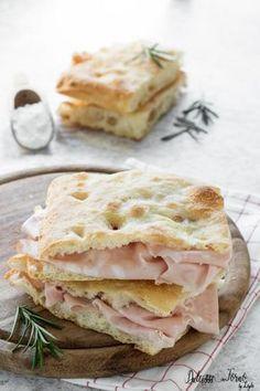 Pizza bianca romana - Pizza e mortazza - Pizza con la mortadella - Focaccia bianca soffice e veloce senza impasto Dulcisss in forno by Leyla