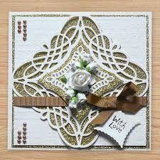 Image result for spellbinders braided grace square die cards